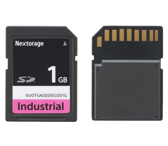 SLC NAND搭載Industrial Tough SD Card
