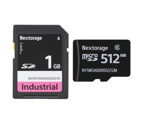 SLC NAND搭載SD / microSD Card